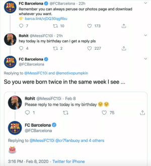 FC Barcelona admin is savage https://t.co/GwOHm3QwaC: FC Barcelona admin is savage https://t.co/GwOHm3QwaC
