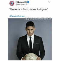 "BayernMunich Admins Are Hilarious 😂: FC Bayern Us  AFC Bayern US  @FCBayernUS  The name is Bond, James Rodriguez  The name is Bond, James Rodríguez""  BayernMunich Admins Are Hilarious 😂"