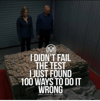 Anaconda, Fail, and Internet: FDIDN'T FAIL  THE TEST  JUST FOUND  100 WAYS TO DO IT  WRONG  @MILLIONAIRE MENTOR You won't believe this guy. 😱 He is 19 Years old & just bought a super car, traveling the world with his team, and making an impact! When you say YOUNG BOSS, the first person that comes to mind is @jetsetfly. He is only 19 years old and is CEO of an Internet multi-purpose marketing-agency and runs multiple successful Ecommerce businesses. He is hands down someone you want to keep your eyes on in 2017, it's only a matter of time before he blows up like Gary Vee or Grant Cardone. If you're not following him, follow him now 👉 @jetsetfly. He just got featured in Influencive and Buzzfeed and his Huffington Post & Forbes article on marketing and entrepreneurship is releasing soon this month too. @jetsetfly. Big shoutout to this stud! Do NOT miss out on his journey! . His success story is mind-blowing for someone his age! Follow @jetsetfly now. 🔥⚡️