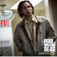 What's lurking around the corner? The Fear the Walking Dead premiere on August 23.: FEAR  WALKING  NEWSERIES PREMIERE  aMC  SUNDAY AUG 23 9/8C What's lurking around the corner? The Fear the Walking Dead premiere on August 23.