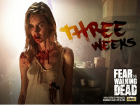Fear the Walking Dead is infectious.: FEARIE  WALKING  NEWSERIESPREMERE  aMC  SUNDAY AUG 23 9/8C Fear the Walking Dead is infectious.