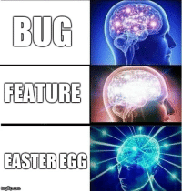 Easter, Happy, and Easter Egg: FEATURE  EASTER EGG We only have happy accidents