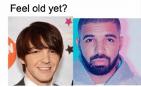 Feel old yet? Remember Drake from Drake & Josh? Look at him now