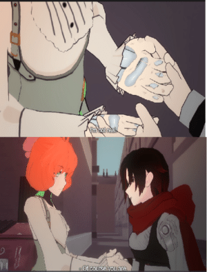 Feeling dysphoric A.F and my trans ass cried to this because I been feeling like I'm not real and that I will never be. Then ruby accepted Penny for who she is and that made me happy and filled with hope.: Feeling dysphoric A.F and my trans ass cried to this because I been feeling like I'm not real and that I will never be. Then ruby accepted Penny for who she is and that made me happy and filled with hope.