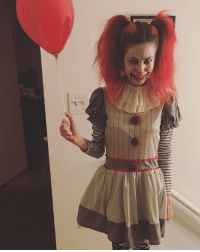 Funny, Pennywise, and Female: Female Pennywise