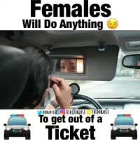 Funny, Dominican, and Hispanic: Females  Will Do Anything  To get out of a  Ticket There's more then one way to get out of a Ticket 😳!Video By: @realdonjose Ft: @Yesminvanessa dominican 🇩🇴 relationshipgoals hispanic Follow @realdonjose