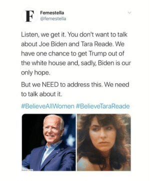 femestella:Joe Biden and Sexual Assault Victim Tara Reade: We Need to Discuss: femestella:Joe Biden and Sexual Assault Victim Tara Reade: We Need to Discuss