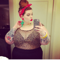 Target, Tumblr, and Blog: femestella:Plus-Size Model Tess Holliday on Fat Acceptance, Her First Book, and Her Rape