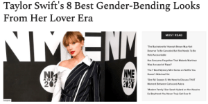 """femestella: The era of Lover has given us a spectrum of looks from feminine florals to deconstructed menswear. Since dropping her first single """"ME!"""" in April 2019, Taylor Swift has rocked a range of outfits with colorful sequin, rainbow shorts, and oversized blazers. So, to celebrate some of the amazing androgynous-inspired looks Taylor has been wearing recently, we took a walk down memory lane and did a round-up of her best Lover outfits. Check it Out Here : femestella: The era of Lover has given us a spectrum of looks from feminine florals to deconstructed menswear. Since dropping her first single """"ME!"""" in April 2019, Taylor Swift has rocked a range of outfits with colorful sequin, rainbow shorts, and oversized blazers. So, to celebrate some of the amazing androgynous-inspired looks Taylor has been wearing recently, we took a walk down memory lane and did a round-up of her best Lover outfits. Check it Out Here"""