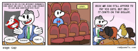 http://redpanels.com/212/: FEMINISM IS BIG ON THE INTERNET NOWADAYS.  HOW ABOUT WE USE IT TO LURE HUGE CROWDS  TO OUR NEW GHOSTBUSTERS FILM?  LOVE IT!  FUND IT.  TERRIFIC!  Wage Gap  LATER  OKAY WE CAN STILL AFFORD TO  PAY YOU GUYS, BUT ONLY  77 CENTS ON THE DOLLAR.  redpanels.com http://redpanels.com/212/