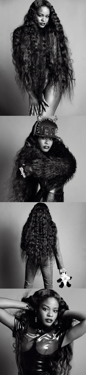 Tumblr, Banks, and Blog: femmequeens:Azealia Banks photographed by Inez van Lamsweerde  Vinoodh Matadin, V Magazine Spring 2012