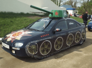 feniczoroark:  shitty-car-mods-daily:  Congrats, your Mazda is now a tank   @randomnightlord : feniczoroark:  shitty-car-mods-daily:  Congrats, your Mazda is now a tank   @randomnightlord