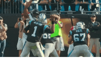 Cam Newton is very good.: fENT  62  KALIL  67  i Cam Newton is very good.