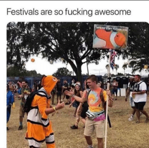 Fucking, Tumblr, and Blog: Festivals are so fucking awesome  WHERE'S MY FUCKIN SON awesomesthesia:  Why festivals rock