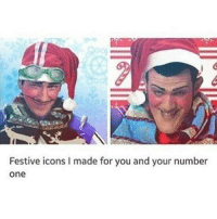 6666th post... spooky: Festive icons l made for you and your number  One 6666th post... spooky