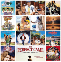 Baseball, Memes, and The Game: FEVER  PITCH  42  THE ROOKI  @Baseball Serious  K E V I N  CO  THE  BASED ON A TRUE STORY  Nine Boys.  One Dream  BULL  DURHAM  FOR LOVE OR THE GAME  OF THE YEAR  eague  OF THEIR O  NER What's your favorite baseball movie? 👀🔥