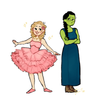 Target, Tumblr, and Blog: fewines:  wlw (witches loving witches)