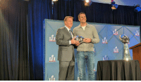 Goodell: Hey Tom, Congrats on winning the Super Bowl and being the MVP Brady: Go fuck yourself, Roger: fi fi Goodell: Hey Tom, Congrats on winning the Super Bowl and being the MVP Brady: Go fuck yourself, Roger