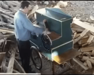 fictionmeister: the-gneech:  seandunkley:  steampunktendencies: Smooth Criminal on a music box thing… Masterpiece~  That's cool and all, but why is it in the middle of a lumberyard?   its the Mood : fictionmeister: the-gneech:  seandunkley:  steampunktendencies: Smooth Criminal on a music box thing… Masterpiece~  That's cool and all, but why is it in the middle of a lumberyard?   its the Mood