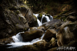 Fiddle Creek Falls, Tahoe National Forest, Northern California...: Fiddle Creek Falls, Tahoe National Forest, Northern California...