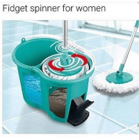 Bitch, Funny, and Memes: Fidget spinner for women if youre a female and you get offended by this, please unfollow me. im female and i find these posts funny and so does everyone else. im saying this because theres always that one bitch in the comments that cant take a joke :-)