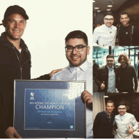 What a day it has been for @mo_bacha! The FIWC16 champion has been invited to TheBest FIFA Football Awards, where he has been in the company of some of the world's biggest names!: FIF  FIFA  FIFA INTERACTIVE WORLD CUP 2016  CHAMPION  Mohamad Al-Bacha  New York City, 22 March 2016 What a day it has been for @mo_bacha! The FIWC16 champion has been invited to TheBest FIFA Football Awards, where he has been in the company of some of the world's biggest names!