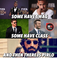 Pirlo! 😎✌️ Download The Link In Our Bio! ⚽️: FIFA  FIFA  ALLON  ALLON  DOR  2015  SOME HAVE SWAG  FOOTBALL  SOME HAVE CLASS  AND THEN THERE ISPIRLO Pirlo! 😎✌️ Download The Link In Our Bio! ⚽️