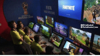 Fifa, Memes, and Live: FIFA FORTNITE  VARROOM  RUSSIA 2018  OTrollFootball  TheTrollFootball Insto Live scenes from the VAR studio: https://t.co/3PPb0Wzits
