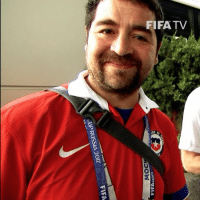 Fifa, Journey, and Memes: FIFA  JUP RUSSIA 2017 March - Slogan submitted for @laroja ConfedCup team bus with Be There With Hyundai ✅ May - Voted best by over 20,000 Chile supporters, wins trip to Russia ✅ June - Meets heroes with exclusive access, joins the player journey on match day ✅ One small act has given these fans a once in a lifetime experience… 🙌 @hyundai_worldwide