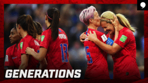 Clothes, Fifa, and Memes: FIFA  MORBO  GENERATIONS When you're @USWNT teammates, you're in sync. Like, wearing each other's clothes.  Full episode: https://t.co/B2rhlEEpar https://t.co/C6SpZ2ZQZV