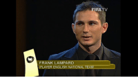After a 21 year career which included 106 England football team caps, 11 trophies, and representing West Ham United, Chelsea Football Club, Manchester City & New York City FC, midfielder Frank Lampard has hung up his boots. In 2005, he was crowned 2nd best player in the world too, only behind Ronaldinho. Good Luck with what's next Frank!: FIFA  TV  FRANK LAMPARD  PLAYER ENGLISH NATIONAL TEAM After a 21 year career which included 106 England football team caps, 11 trophies, and representing West Ham United, Chelsea Football Club, Manchester City & New York City FC, midfielder Frank Lampard has hung up his boots. In 2005, he was crowned 2nd best player in the world too, only behind Ronaldinho. Good Luck with what's next Frank!