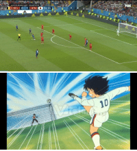 Fifa, Memes, and World Cup: FIFA WORLD CUP  RUSSIA 2018  OASE 2018 FIFA WORLD CUPTM-ROUND OF 16  BEL | 0 ÷ 1 | PN 10 51:33  LIVE   ズ 10 That strike from Inui https://t.co/MyU7wboigc