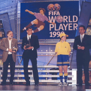 Birthday, Fifa, and Memes: FIFA  WORLD  PAYER Happy birthday, Rivaldo Ferreira!