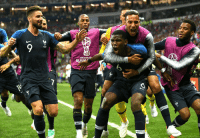 Congratulations to France, the 1st African team to win the #WorldCup https://t.co/9MctdPnGSf: FIFA WORLD  RUSS Congratulations to France, the 1st African team to win the #WorldCup https://t.co/9MctdPnGSf