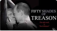"Another homophobic meme from the tolerant Projective Left. It's okay to bash the LBGT community as long as it's at the President's expense.: FIFTY SHADES  OF  TREASON  The safe word  is  IS  No Collusion"" Another homophobic meme from the tolerant Projective Left. It's okay to bash the LBGT community as long as it's at the President's expense."