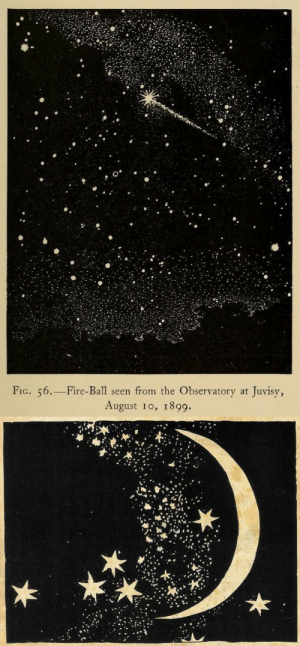fig: FIG. 56.-Fire-Ball seen from the Observatory at Juvisy,  August 10, 1899