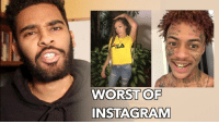 Fila, Funny, and Instagram: FILA  WORST OF  INSTAGRAM NEW VIDEO  We have to destroy Instagram: https://t.co/1KQJgmWAGW https://t.co/pnTio3OIAg