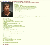 """Half Life 3 announced, Gaben reaches critical mass.: File: 0.ipg  50 KB, 600x765, portraiture of gaben by unidcolor-d(...) jpg)  1345757247480  Anonymous (ID: DBsGNvbk) 08/23/12 (Thu)17:27:27 No.420753740  >Be 2013  >A few months before E3  >Rumours that Valve are working overtime to complete a project  >For some reason they are also extending their offices in Bellvue  >Internet fanboys start jerking themselves off uncontrollably  >Headcrab plushies turned into fleshlight fucktoys.  >HL3, HL3, HL3 etc.  Something big is happening  >E3 arrives.  Valve are ready to show.  >Gaben lowered in by crane.  >Fat jokes aside, he's grown. A lot  >New wing built to house his now unfathomably enormous girth. ed with jelly and ice cream.  >Takes 10 to catch his breath.  opens his mouth.  Fills it with a sandwich.  Chews. Slow, calculated bites.  >Looks every last person sitting in the auditorium in the eye.  One bite left.  """"HalfLife 3 is to be released immediately, on sale.""""  >Eats last bite.  >""""Hope it was worth the wait."""" He smiles, then grimaces  >Last bite of sandwich has caused Gaben to reach critical mass.  >Starts to pulsate on stage  >People s  >Begins to rise into the air and gently spin.  >Faster and faster.  Auditorium begins to get shredded by the pull he is exerting  >Chairs fly everywhere.  Sudden implosion destroys half of Los Angeles.  >Gravity so intense that Gaben collapsed in on himself.  >Gaben is now a black hole.  >We are his event horizon.  Time runs so slowly now.  >1 hour takes 24.  >Death is effectively cured  >You have time to do anything you have ever wanted  >HL3 scores 100 on metacritic.  >mfw we are all finally running on Valve time.  Early predictions? Half Life 3 announced, Gaben reaches critical mass."""