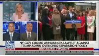 Memes, Desk, and Trump: FILE  FOX  EWS  NY GOV CUOMO ANNOUNCES LAWSUIT AGAINST  TRUMP ADMIN OVER CHILD SEPARATION POLICY  BREAKING TONIGHT  VERSION OF ITS VOICE ASSISTANT LETS GUESTS CALL FRONT DESK OR ORDER ROOM SERVICE WITHOUT F Everyone please repost and let everyone know what's really happening on in this world💔 let's start to share and let others know about this and support us Mexican people🇲🇽 we all stand together👫🏻👭👫🏻👭👫🏻