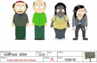 Dank, Dating, and Head: File Name  Type  Ver:  troll Pack 2004  CHAR  Artist  A Date:  10/8/16  Status:  Notes:  fixed pierced troll head  SOUTH  PAR Don't miss our LIVE tweet happening now! Follow us on Twitter @SouthPark