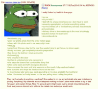 Bad, Beautiful, and Comfortable: File: nervous-pepe.jpg (9 KB, 231x218)  FUCK Anonymous 07/17/18(Tue)20:45:14 No.46874383  Replyl  I really fucked up bad this time guys  be me  33 ylo NEET  dad left me a large inheritance so i dont have to work  severely agoraphobic so I order everything online  >survive entirely off of food delivery services like ubereats  and postmates  >delivery driver a few weeks ago is the most shockingly  beautiful woman ive ever seen  she smiles at me  >heartmelts.png  print her profile photo from the order history page  sleep with this photo next to me every night now  idea.jpg  order food 3 times a day for the next few weeks trying to get her as my driver again  finally success...get completely naked in preparation  fate favors the bold so I chub up my dick  fullyerect.jpg  she knocks on the door  tell her its unlocked and she can come in  >she says she doesnt feel comfortable doing that  after some back and forth she opens the door  her eyes scan the room until she sees me on the couch, fully erect and naked  >she screams and drops the food and runs out the door  a few minutes later some guy starts pounding on my door, probably her boyfriend  >after 10 minutes he finally leaves but he was yelling about calling the police  They can't actually do anything, can they? She walked in on me so technically she was violating my  privacy if anything. My ubereats account stopped working so I can't place more orders to try to see  her again and explain things. Now I'm going to get in big trouble over a simple misunderstanding  Fuck everyone on discord who told me the naked man technique would work.