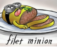 Minion, Filet Minion, and  Things: filet minion A few of my favorite things