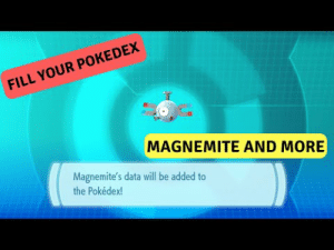 Lol, Pokemon, and Tumblr: FILL YOUR POKEDEX  MAGNEMITE AND MORE  Magnemite's data will be added to  the Pokédex! lol-coaster:  B5 - Here I upload videos about pokemon, Shiny hunt and more!
