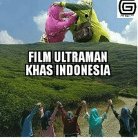 Indonesia, Indonesian (Language), and Film: FILM ULTRAMAN  KHAS INDONESIA