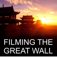 Drone, England, and Memes: FILMING THE  GREAT WALL ​6 JAN: William Lindesay has been obsessed with the Great Wall of China since seeing it in a school atlas as a child in England. Last year he embarked on an epic journey to fulfil a lifelong ambition to film the wall in its entirety from the air. The geographer, conservationist and author and his family travelled 15,000km (9,320 miles) around the wall network, filming it with a drone. 📷: James and Thomas Lindesay at Depictograph. Watch more: bbc.in-greatwall GreatWallofChina China BBCNews BBCShorts @BBCNews