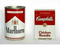 Memes, 🤖, and Soup: FILTERED SOUP  CON DBN SBD  amp  Chicken  Noodle  CIGARETTES