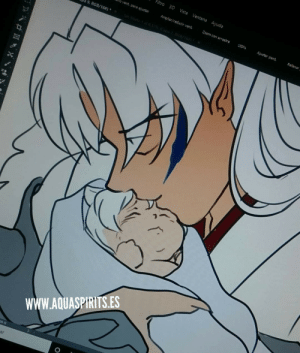lenbarboza:#WIP Patreon reward ❤❤❤😭 Turbo mode 😲😧😦😰 #Inuyasha #Touga #inunotaisho #dadlove #len #lenbarboza #aquarina #inuarthttps://www.instagram.com/p/B11iENYIPCk/?igshid=az14xf5hyonv: Filtro 3D Vista Ventana Ayuda  Mo vent. para ajustar  Ampliar/reducir vent.  20om con arrastre  100  Ajustar pant  Relenar  RGB/16#)  wWW.AQUASPIRITS.ES  DO G  ar lenbarboza:#WIP Patreon reward ❤❤❤😭 Turbo mode 😲😧😦😰 #Inuyasha #Touga #inunotaisho #dadlove #len #lenbarboza #aquarina #inuarthttps://www.instagram.com/p/B11iENYIPCk/?igshid=az14xf5hyonv