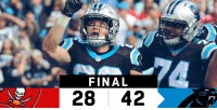 Memes, Panthers, and 🤖: FINAL  2842 FINAL: @Panthers improve to 6-2! #TBvsCAR  #KeepPounding https://t.co/X1oH9jknNE