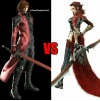 Rosso Vs Genesis no restrictions and the fight place is burning Nibelheim. Who wins and why?: @Final Fantasy,Facts  EE Rosso Vs Genesis no restrictions and the fight place is burning Nibelheim. Who wins and why?