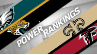 Philadelphia Eagles, Memes, and Nfl: Final NFL Power Rankings (via @HarrisonNFL):  1. @Eagles 2. @Patriots 3. @Jaguars 4. @Saints 5-32. https://t.co/7K0Z7ds3Ee https://t.co/MSRFqLdBSq